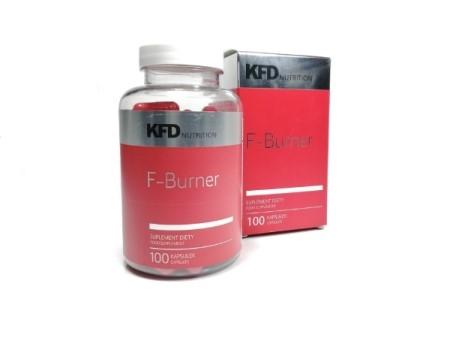 Kapsułki na odchduzanie KFD F-Burner - opinie o tym jak nie chudnąć