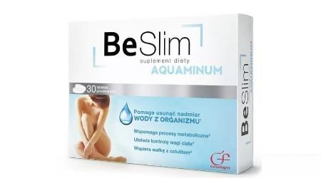 Tabletki na odchudzanie Be Slim Aquaminum - opinie po zawodzie