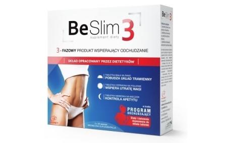 Tabletki na odchudzanie Be Slim 3 - opinie po kuracji