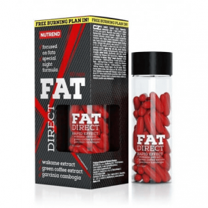 Kapsułki na odchudzanie NUTREND Fat Direct - opinia po użyciu