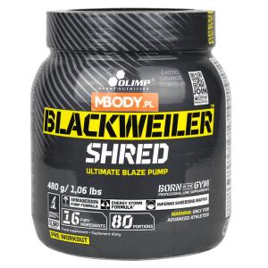 Preparat Olimp Blackweiler Shred 480G - opinia o nieskutecznym preparacie