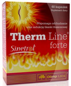 Preparat na odchudzanie Therm Line Forte - opinie i wielki zawód